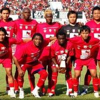 Photo taken at Stadion Manahan by PasoepatiNet on 10/24/2011