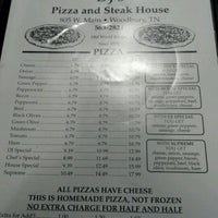 Photo taken at DJ's Pizza and Steakhouse by David B. on 1/1/2012