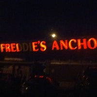 Photo taken at Freddie's Anchor Sports Grill by Jaya C. on 7/13/2011