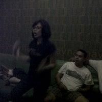 Photo taken at NAV Karaoke Keluarga by Sella on 1/1/2012