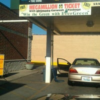 Photo taken at Evergreen Car Wash by Carla H. on 6/9/2012