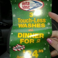 Photo taken at Delta Sonic Car Wash by Brianna P. on 11/27/2011
