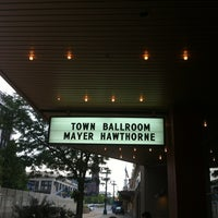 Photo taken at Town Ballroom by Jay G. on 7/22/2012