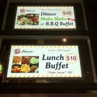 Photo taken at Shinara Grill & Lounge by Stephen C. on 5/10/2011