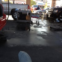 Photo taken at Jack's Car Wash Company / 76 Station by 🙈🙉🙊Michelle C. on 11/12/2011