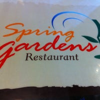 Photo taken at Spring Gardens Family Restaurant by Meredith C. on 4/29/2012