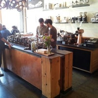 Photo taken at Four Barrel Coffee by Jüri K. on 5/25/2012