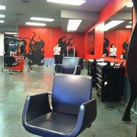Photo taken at DYE Salon by Ilaria G. on 5/12/2012