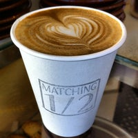Photo taken at Matching Half Cafe by Andy S. on 3/3/2012