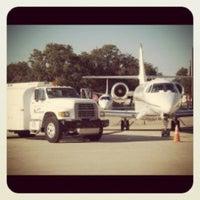 Photo taken at Georgetown Jet Center by Bill H. on 7/8/2012