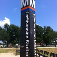 Photo taken at Smithsonian Metro Station by mslinda22 on 5/28/2012
