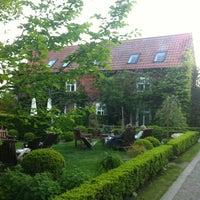 Photo taken at Landhotel Märkische Höfe by Melanie S. on 5/18/2012