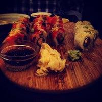 Photo taken at Sushi Sasa by Brittani V. on 3/10/2012