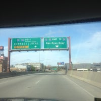 Photo taken at Kennedy Expressway by Cicco S. on 4/22/2012