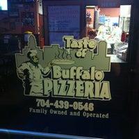 Photo taken at Taste Of Buffalo Pizzeria by Daniel S. on 4/11/2012