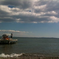 Photo taken at Küçükkuyu Plajı by Sedda T. on 8/28/2012