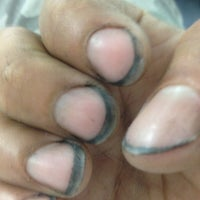 """Photo taken at Tip """"O"""" Nails by Fab J. on 8/25/2012"""