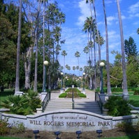 Photo taken at Will Rogers Memorial Park by Christophe C. on 2/23/2012