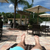 Photo taken at Discovery Palms Pool by Alex S. on 7/6/2012