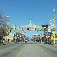 Photo taken at NoHo Sign by HTEDance on 3/4/2012