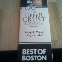 Photo taken at The Upper Crust Pizzeria by senna on 10/18/2011