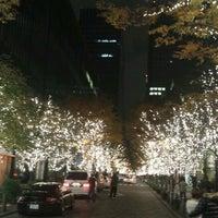 Photo taken at 丸の内仲通り by megumu k. on 11/26/2011