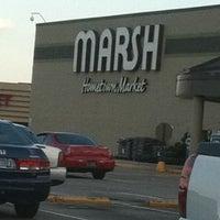 Photo taken at Marsh Supermarket by Nikki L. on 9/26/2011