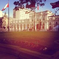 Photo taken at Santiago a Mil (Plaza de La Constitución) by Rodrigo M. on 1/19/2012