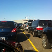 Photo taken at Black Ball Victoria Ferry by Heather D. on 9/10/2011
