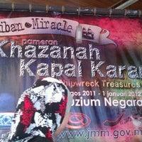 Photo taken at National Museum (Muzium Negara) by ezeyana a. on 1/2/2012