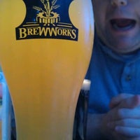 Photo taken at Brew Works on the Green by Becky S. on 7/28/2012