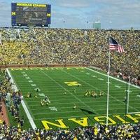 Photo taken at Michigan Stadium by Tim J. on 10/1/2011