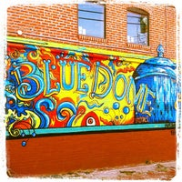 Photo taken at The Blue Dome District by TravelOK on 1/26/2012