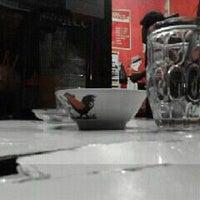 Photo taken at Burjo Meisya by 'Dhimaz' H. on 3/30/2012
