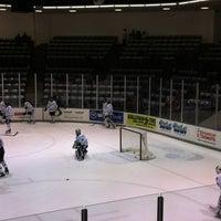 Photo taken at Schneider Arena by Becky C. on 3/2/2012