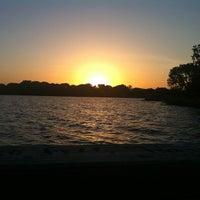 Photo taken at White Rock Lake by Toshi on 8/4/2012