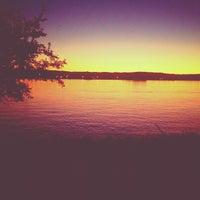 Photo taken at Missouri River by Mackenzie o. on 9/8/2012