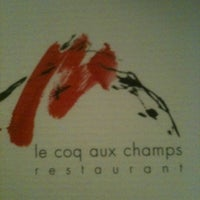 Photo taken at Le Coq aux Champs by Albewt T. on 10/26/2011