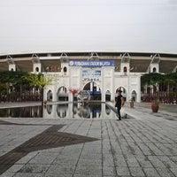 Photo taken at Stadium Nasional Bukit Jalil Car Park by KaiKai L. on 6/7/2012