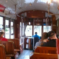 Photo taken at St. Charles Streetcar by Karl K. on 12/3/2011