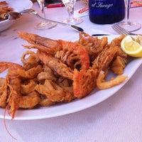 Photo taken at Sapore Di Mare Porto Di Anzio by Damka on 7/3/2012