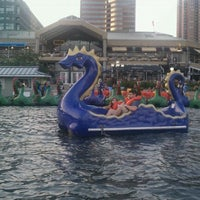 Photo taken at Inner Harbor Paddle Boat Dock by Emily M. on 7/6/2011