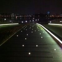 Photo taken at 난지 은하수다리 by TJ U. on 3/14/2011