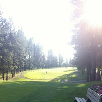 Photo taken at Coeur d'Alene Golf Club by Dustin S. on 7/28/2012