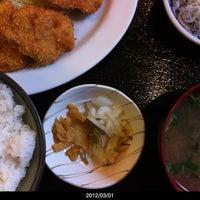 Photo taken at 丸長 by kubo n. on 3/1/2012