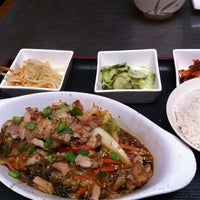 Photo taken at Han Fine Korean Cuisine & More by hadriel a. on 4/15/2011