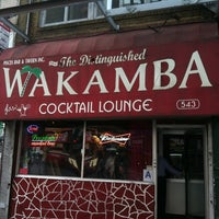 Photo taken at The Distinguished Wakamba Cocktail Lounge by Zeb H. on 8/3/2012