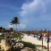 Photo taken at Gran Bahía Principe Tulum by W. S. on 6/28/2012
