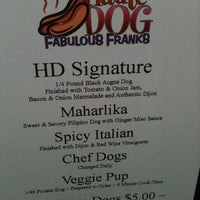Photo taken at Haute Dog Carte by Mia on 5/14/2011