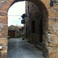 Photo taken at Bodegas del Sobrarbe by Carlos B. on 12/2/2011
